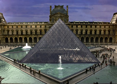 Paris Louvre (Michael Dawes) Tags: paris france art museum photoshop europe louvre country cs3 cs4 topshots photoshopcs3 mytopshots photoshopcs4