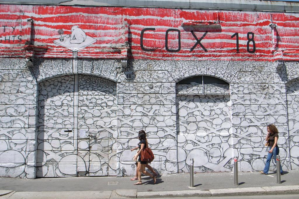 Cox18 casas okupas de Milán alternativo