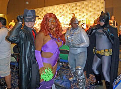 SpiritStarfireCyborgBatman (merhawk) Tags: princess batman starfire dccomi
