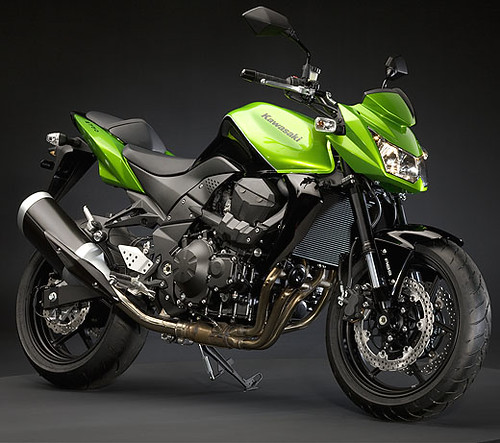 kawasaki z750 green picture