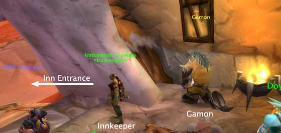 Gamon at the Inn - Orgrimmar