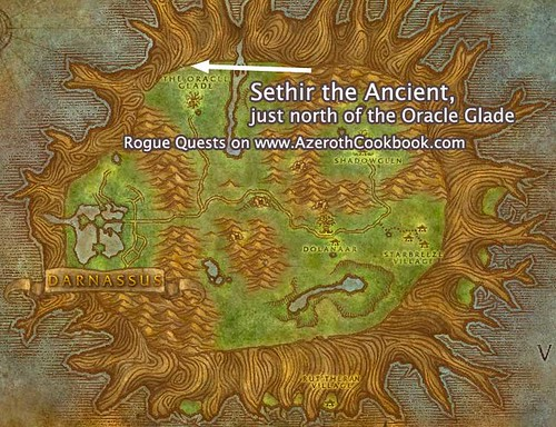 Map to Sethir the Ancient