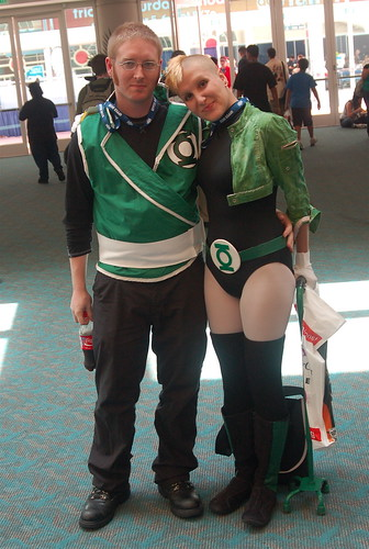 Comic Con 2008: Green Lanterns
