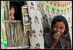 They are [..Sylhet, Bangladesh..] (Catch the dream) Tags: girls game window smile look rural children play traditional bongo joy happiness shy laugh leisure peep society bengal sylhet bangladesh bangla spontaneous kantha shyness bengali bangladeshi bangali spontaneity aplusphoto goldstaraward underprivilaged gettyimagesbangladeshq2