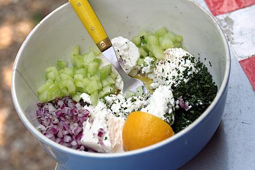 feta salad fixings