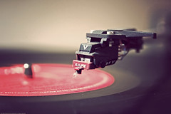 Listening to Vinyl (SemiCharmedLife ()) Tags: vinyl turntable record sgi cartridge shure tonearm polydor divinyls 3313rpm typev gettyimagess soldgi