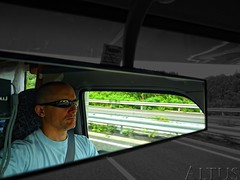 Designated Driver (/\ltus) Tags: japan lumix driving panasonic rv hawaiians colourisolation nothdr zil520 dmcfx35