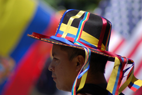 Ecuadorian Day parade in New York.