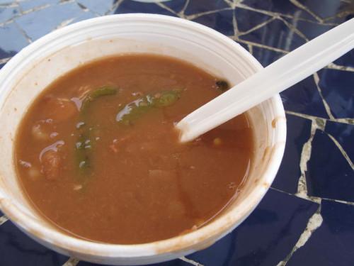 Beans at Tacos el Paisa