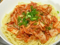 キムチスパゲティ丼
