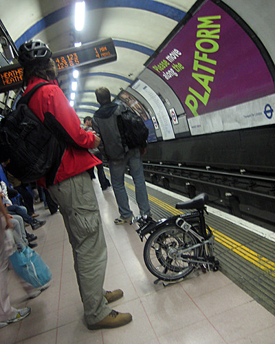 Brompton on the Piccadilly Line