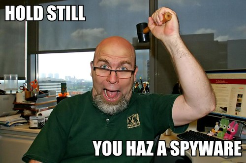 You Haz A Spyware