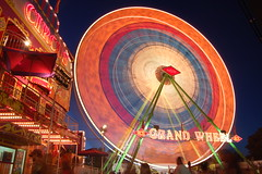 20080826 Grand Wheel (Tom Spaulding) Tags: california ca longexposure carnival night ride statefair ferriswheel sacramento californiastatefair wwwbigfunorg wwwraycammackshowscom