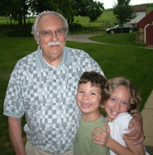 kids with grampa C