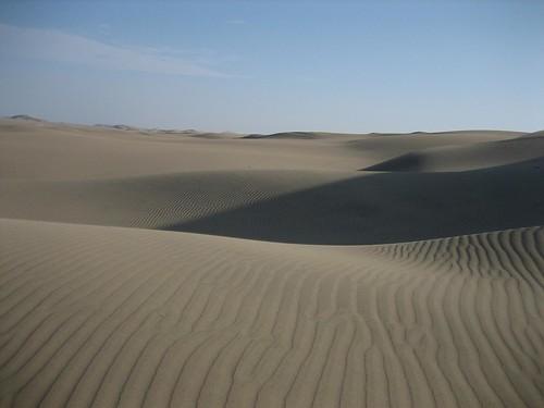 Sand Dunes, Huacachina Oasis, Ica, Peru