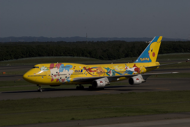 NH Pokemon Jet B747-400