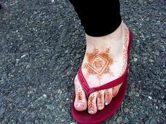 North African foot (henna.by.sienna) Tags: feet heena henna mehendi khinna hinna mehndi hennabysienna bodyart harkous harquus harqous