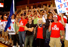 Volleyball Fans Two - Belmont University