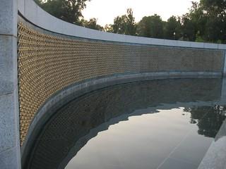 Freedom Wall, U.S. National World War II Memorial, Washington, D.C.