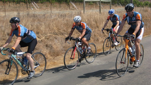 Team Schwab: Zach, Frank, Don & Michael