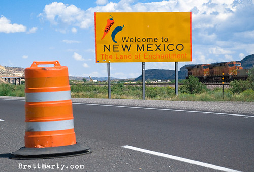 Welcome to New Mexico - BrettMarty.com