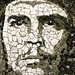 Che in Stone Mosaic