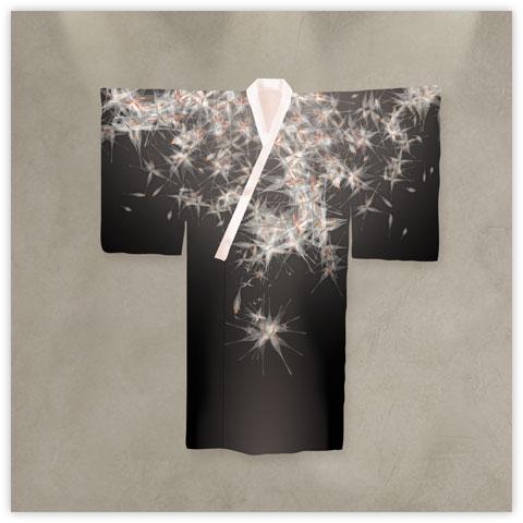 kimono-dandelions