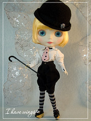 Blythe Custom doll - Vaudeville Love! - by I HAVE WINGS