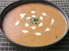 Cream of Capsicum Soup