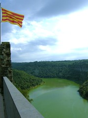 El Ter des del monestir de Sant Pere de Casserres (A view of the Ter river from the Monastery of Sant Pere de Casserres)