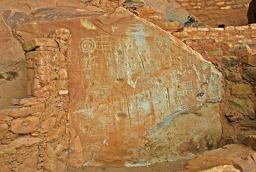 Petroglyph at Step House by you.