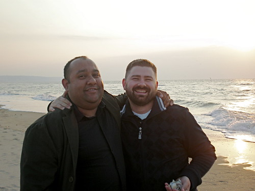 Me and Riaz at the Beach