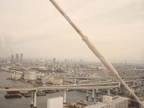 Ferris wheel view