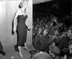 Korean War - HD-SN-99-03125 - Marilyn Monroe (U.S. Army Korea (Historical Image Archive)) Tags: morning family red camp music food cloud art infantry soldier army casey us construction war republic child transformation united culture center security korea calm management korean walker installation seoul busan land states division combat region development command dmz joint nations zone forces bulgogi mwr civilian daegu yongsan combined jsa footage humphreys covenant cfc 2id usfk demilitarized wonju pyongtaek kimichi airwar usag imcom imcomk fmwrc