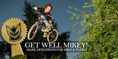Get Well Mike!