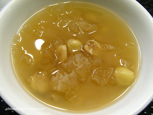 南昌路豆味行白木耳蓮子