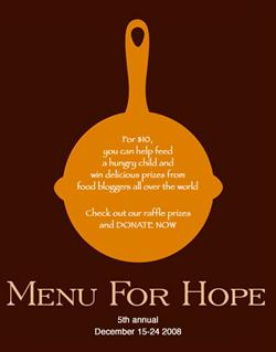 Menu For Hope Logo