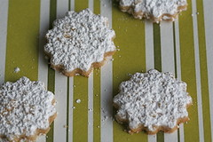 Cardamom snowflake cookies 2
