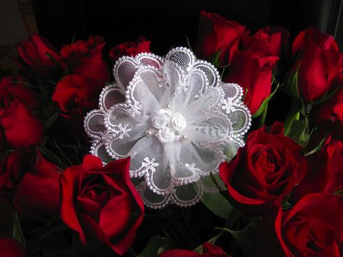 ZOE signature flower - sold