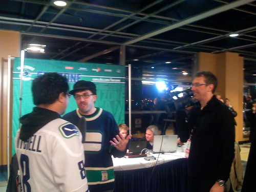 Canucks Fan Zone live video hits