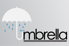 Umbrella logo (sketchy pictures) Tags: pictures sketchy logo typography design 3d graphic illustrator typo vector boyle ryanboyle sketchypictures