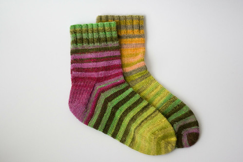 noro socks finished