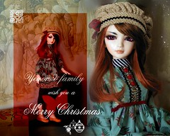 Natale 2008 (l u d y c o) Tags: christmas xmas doll noel bjd dollfie natale bambole msd minisuperdollfie balljointeddoll burnejones yewon soulkid souldoll preraffaelliti thegoldenstairs lascaladoro