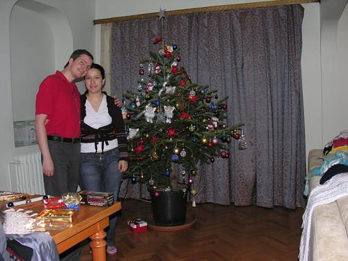 Az első karácsonyunk