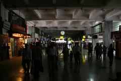 ムンバイの鉄道駅CSTStattion