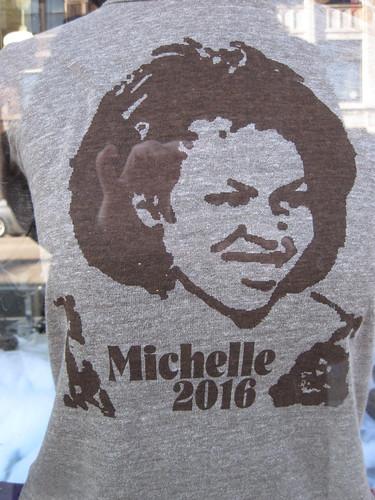 Michelle Obama in 2016!