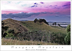 mangere mountain (man's pic) Tags: trip sunset newzealand vacation mountain volcano colorful auckland nz northisland kiwi hdr mangere sunsetphotography maldivianphotographer manspic cityofsail munahahmed aoeteora sunsetsofmanspic