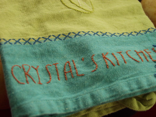 Crystal's Kitchen Towel