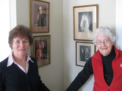 Bev and Mom at her new Retirement residence