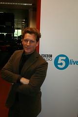 Magnus Scheving aka Sportacus (BBC Radio 5 live) Tags: magnus lazytown sportacus scheving fitkid